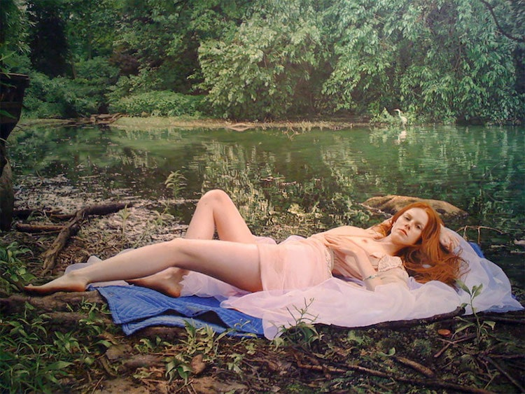 Yigal Ozeri photorealism 19