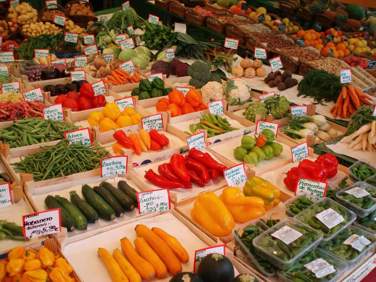 vegetable market 50974 1280