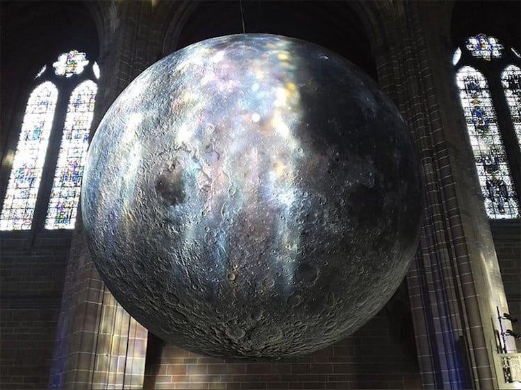 museum of the moon installation art luke jerram 10