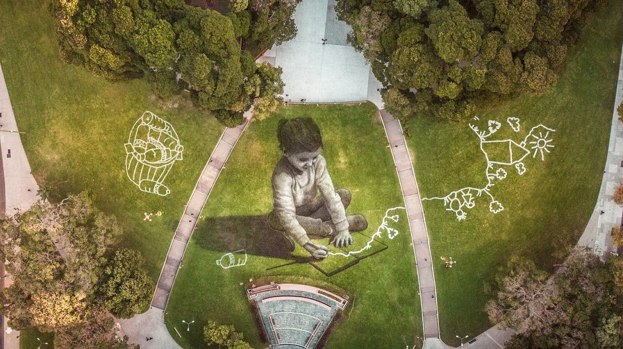 saype ecological street art 3