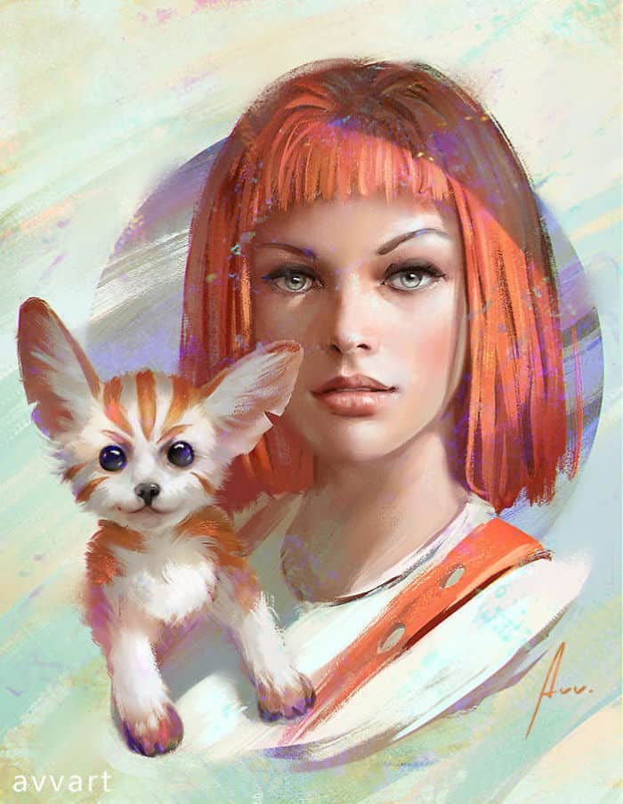 Artist shows consecrated characters in the pop universe and their imaginary pets 5c6a0800ac291  700