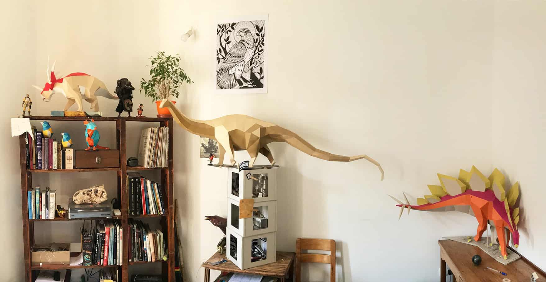 paper dinosaur 6