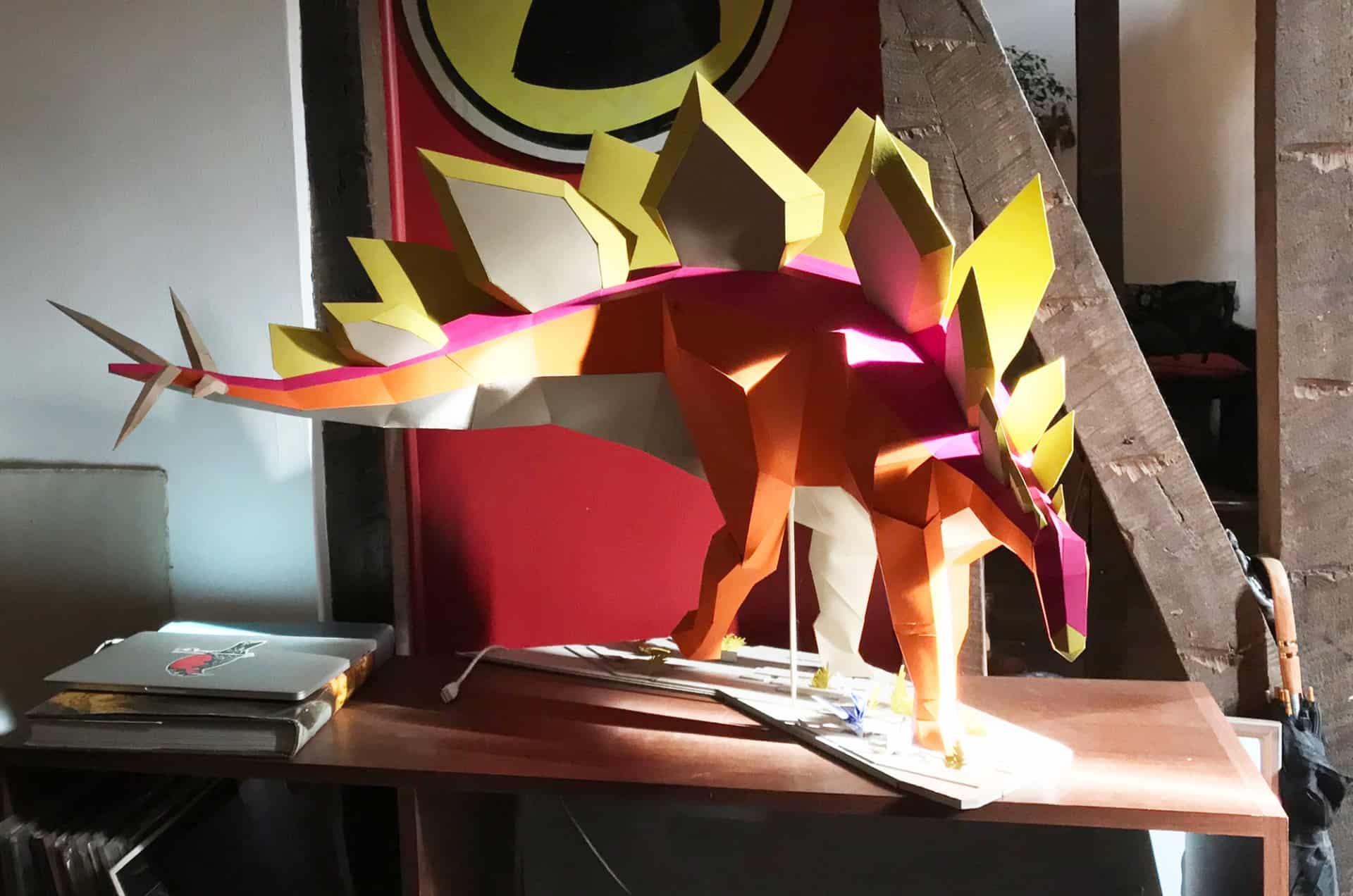 paper dinosaur 7