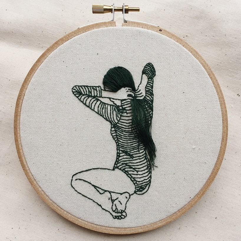sheena liam embroidery designboom 4