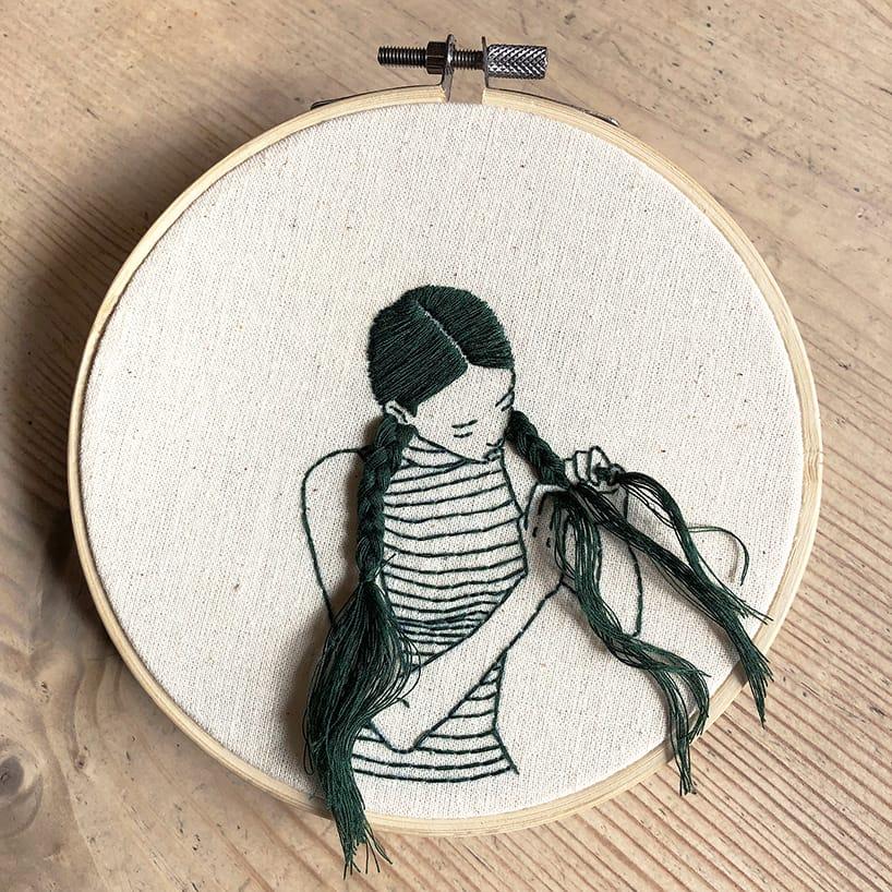 sheena liam embroidery designboom 5