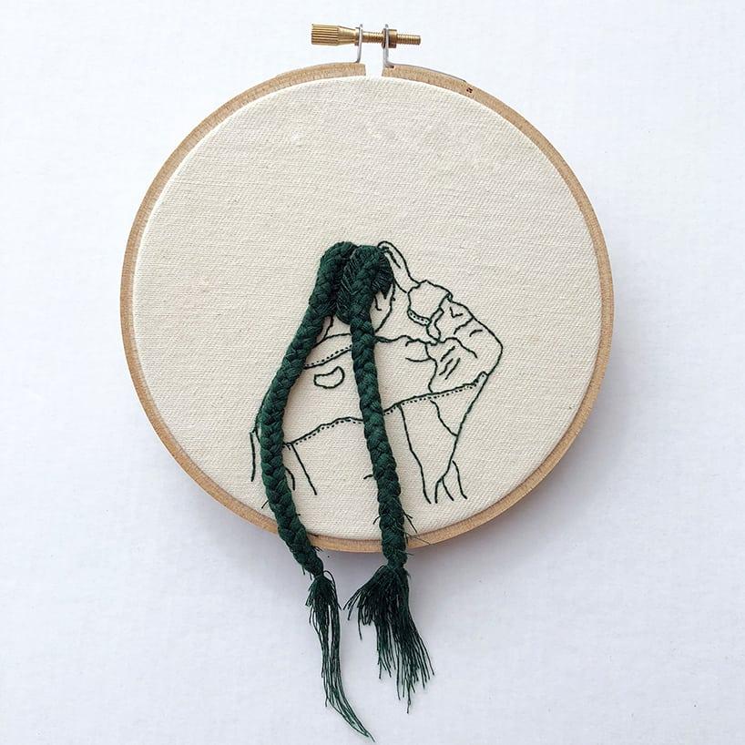 sheena liam embroidery designboom 7