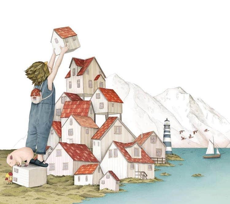 illustration art gabriella barouch 5