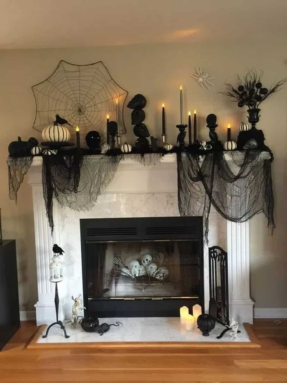 65 Cool Halloween Party Decoration Ideas 22 2