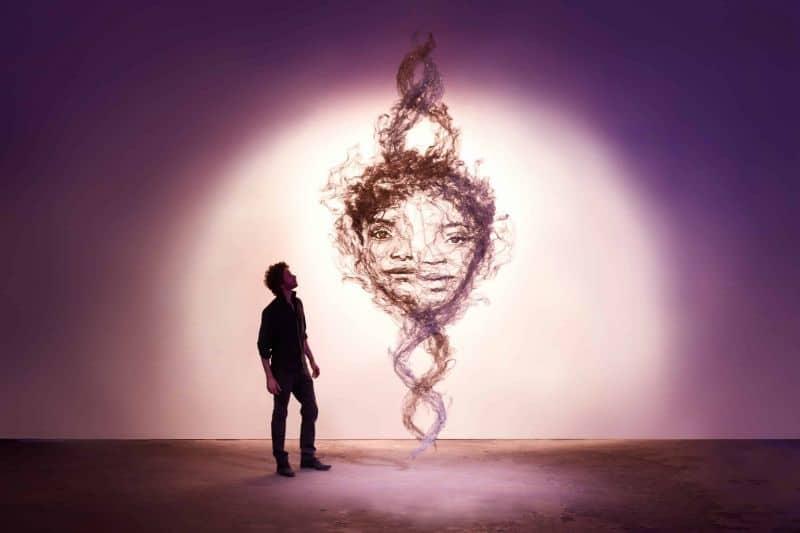 Benjamin Shines Ethereal Sculpture Quietude 7