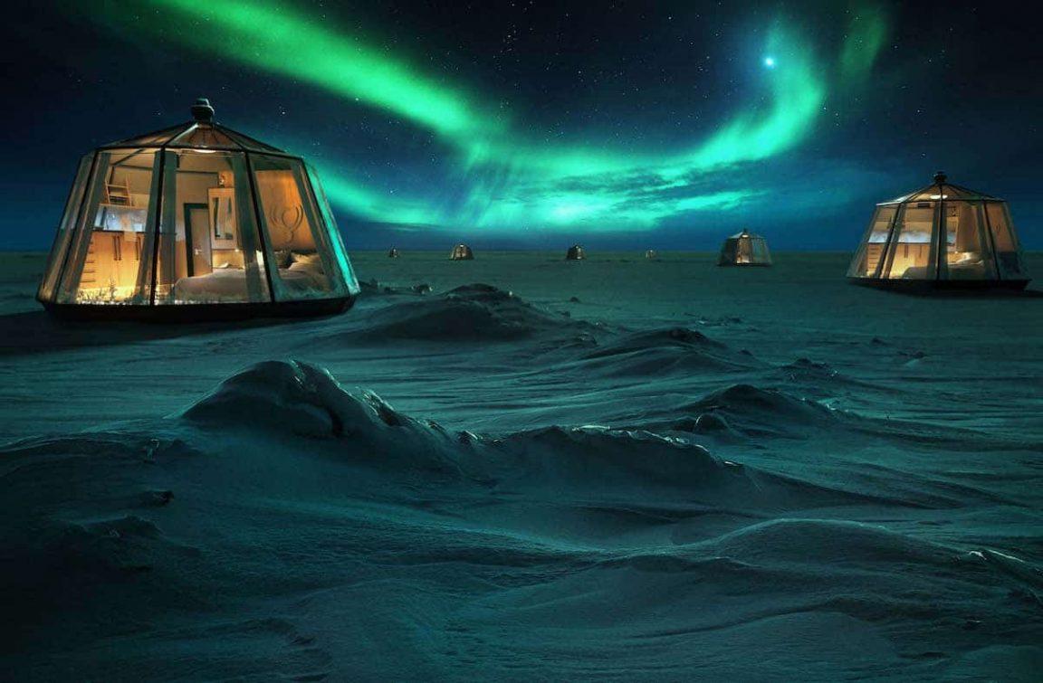 north pole igloo hotel 1