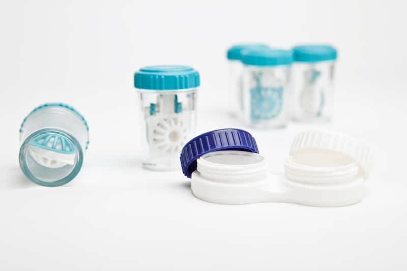 eye hygiene care set of contact lens cases by79ltv