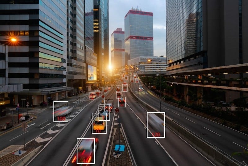 machine learning and ai to identify objects image recognition suspect tracking speed limit