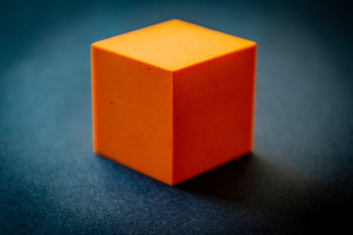 orange cube 1340185