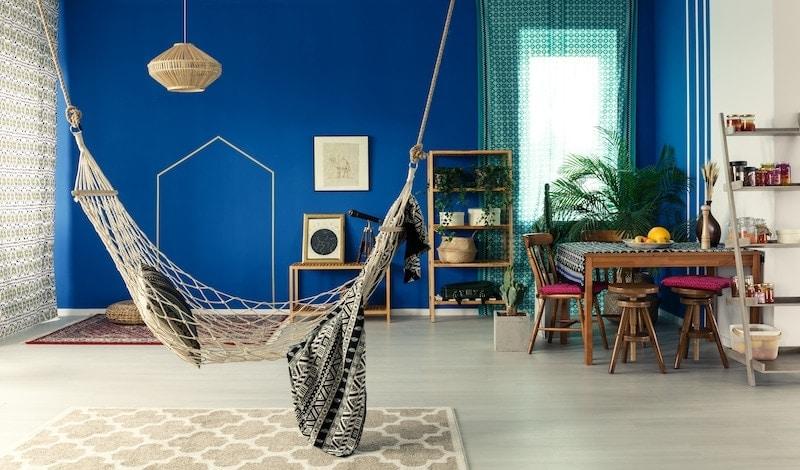 bohemian apartment with hammock PYDR3EC