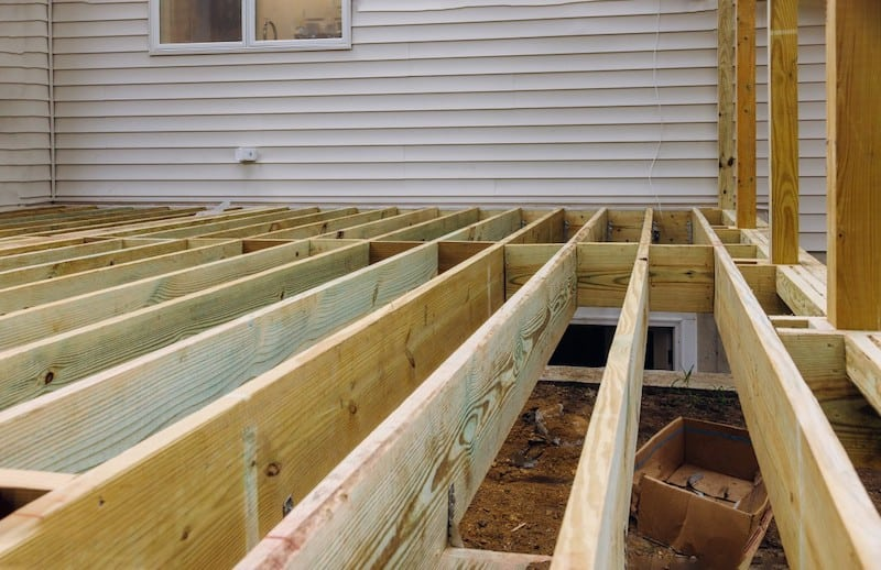 installing deck patio construction boards with above ground deck t20 P1ObBN