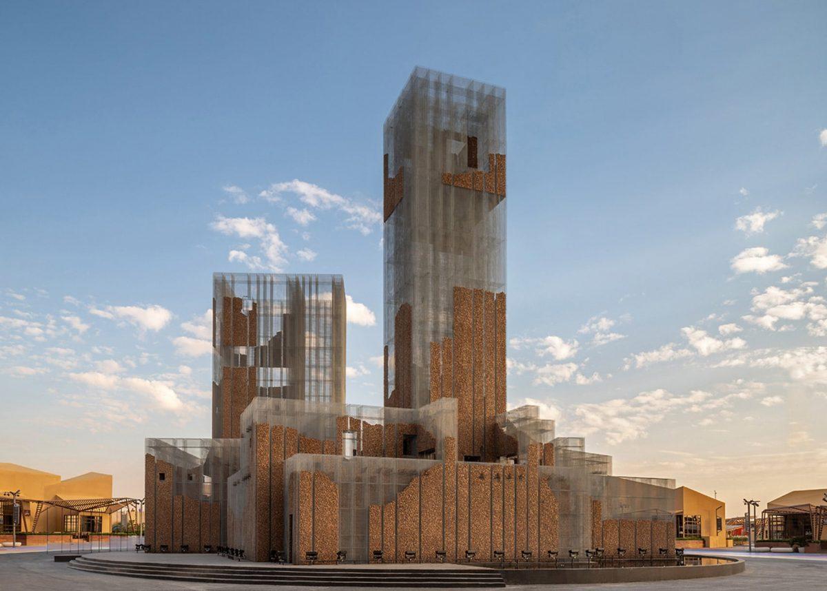gharfa installation studio edoardo tresoldi alberonero max magaldi matteo foschi diriyah oasis riyadh saudi arabia hero a