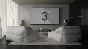 interior of modern design room 3d rendering PA6X892 scaled