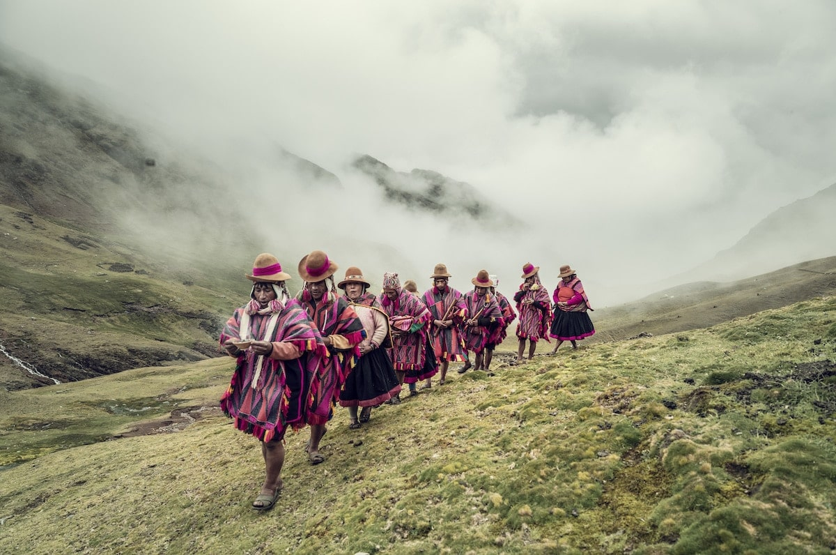 Jimmy Nelson XL 12 Despacho ceremony Q ero Qochamoqo Hatun Q eros Andes Peru 2018 full