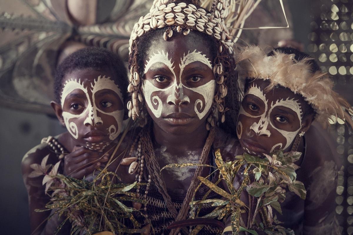 Jimmy Nelson XXXV 21 Iatmul Yentchen village Sepik River The Lowlands Papua New Guinea 2017 full