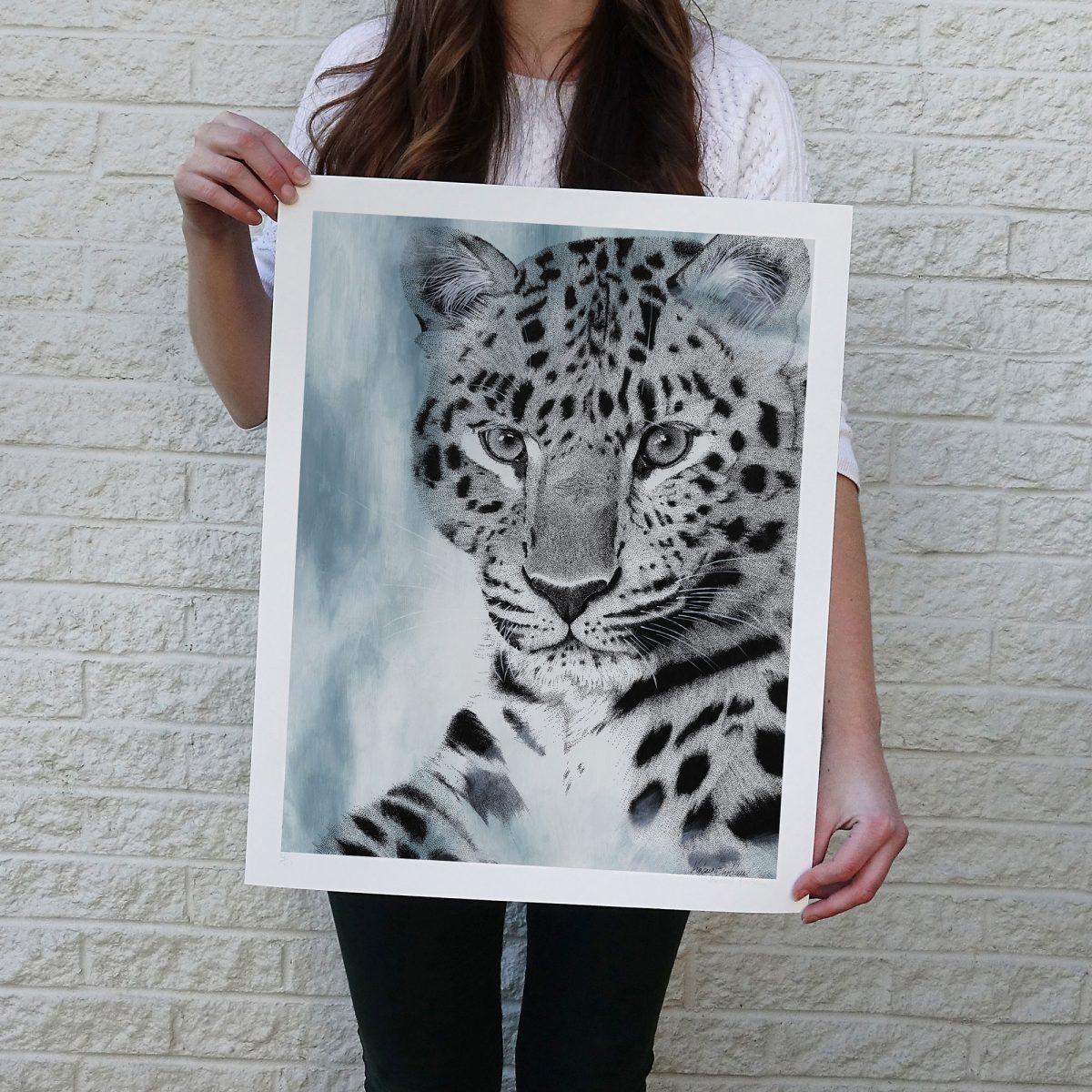 Dreamy Amur Leopard Print © Kelsey Emblow