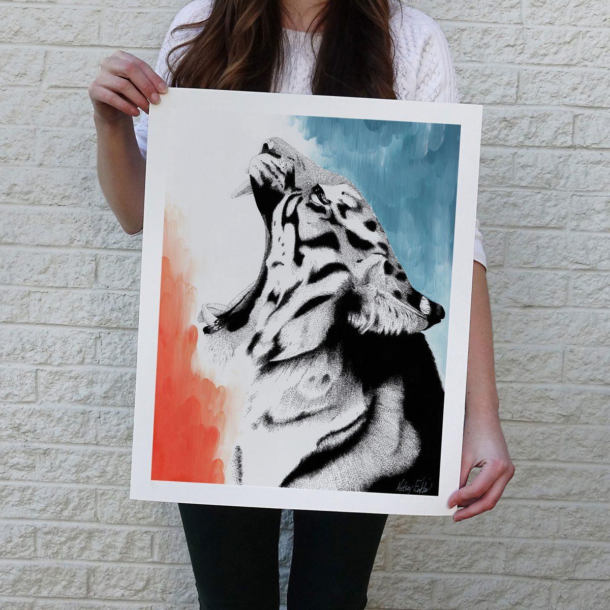 Dreamy Tiger Print © Kelsey Emblow