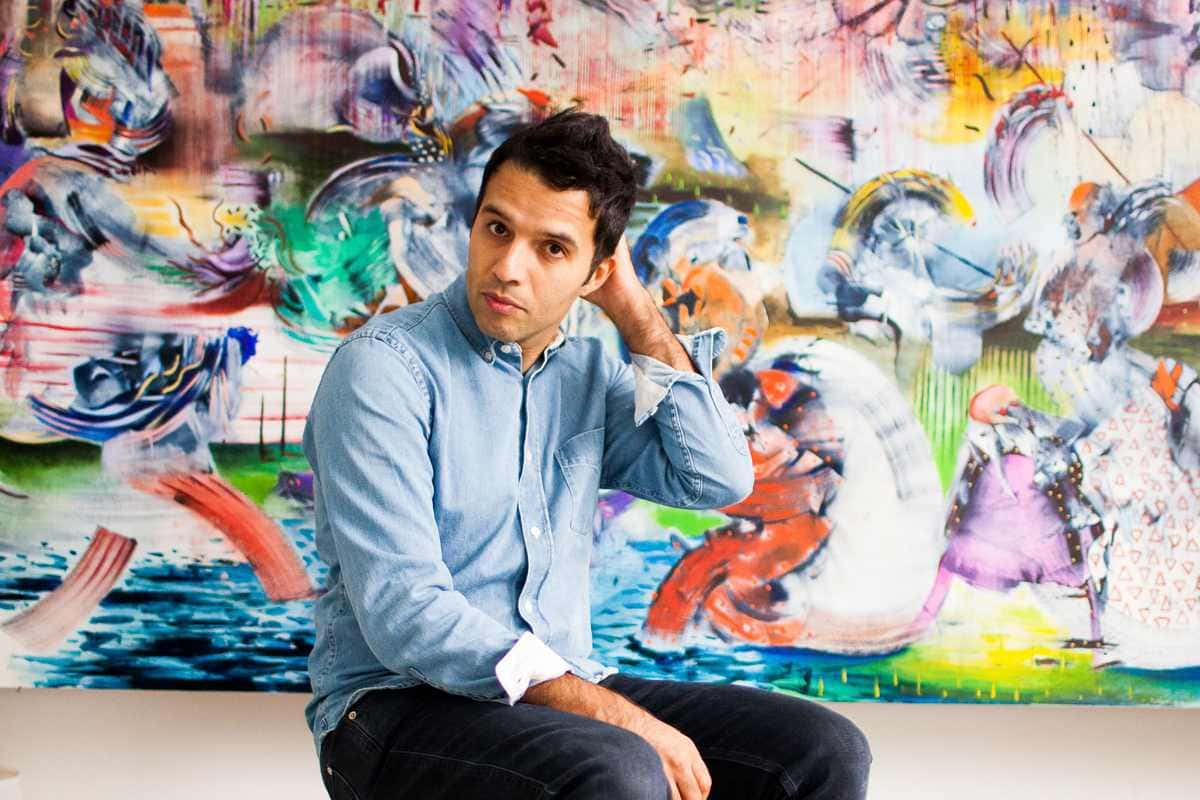 Portrait of Ali Banisadr Courtesy the artist and BlainSouthern Photo credit Fernando Sancho
