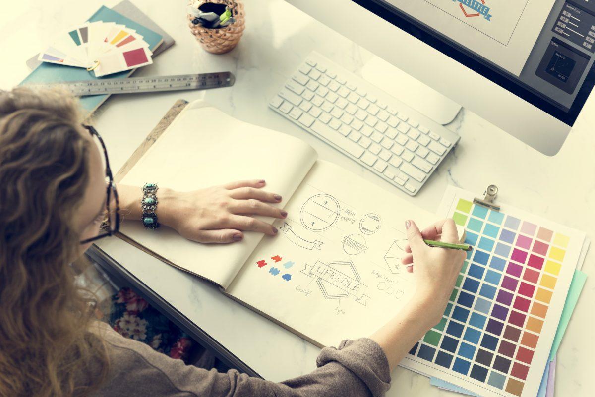 color shade swatch stationary designer creative co PQDU5K4