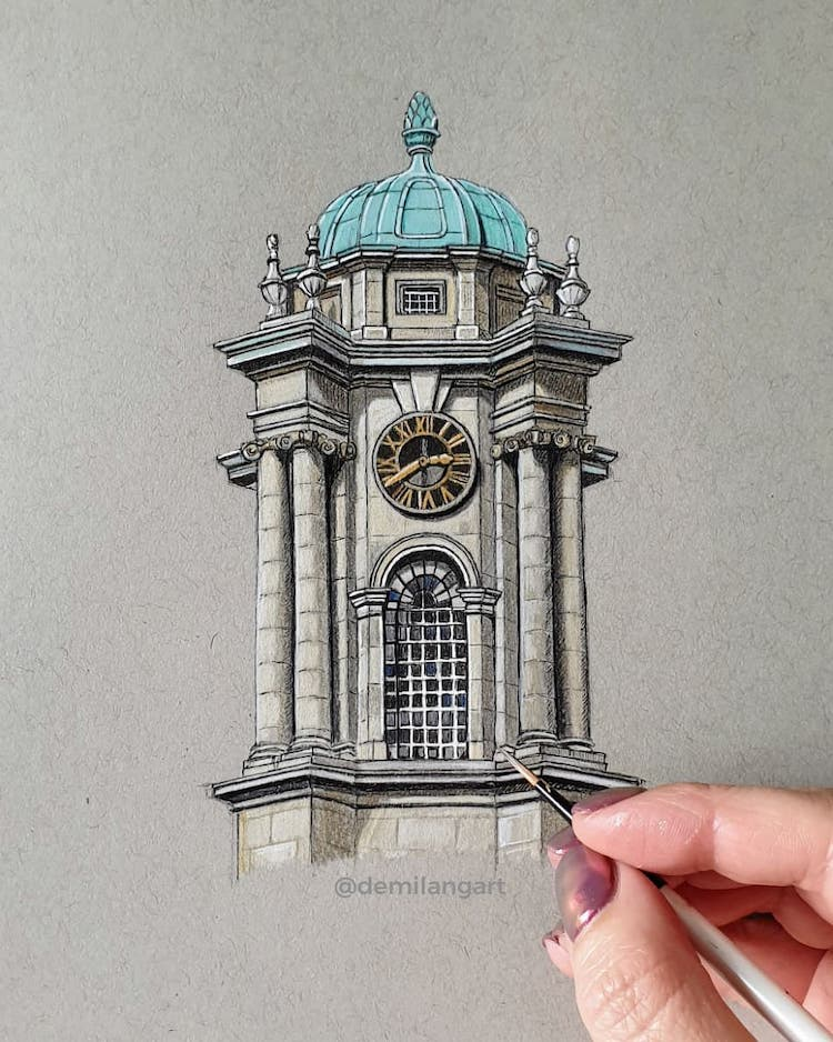 demi lang architectural drawings 7