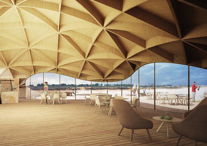 madam architecture hexia architects ginkgo swan lake park fishermans warf designboom 03