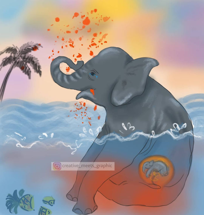 5ed9f343af1e0 pregnant elephant dies eats pineapple filled with firecrackers artists pay tribute 5ed894771e2a8 png 700