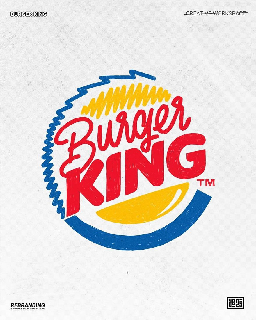 Artist shows alternative versions of famous logos in different styles 5ed3adc82fde9 880