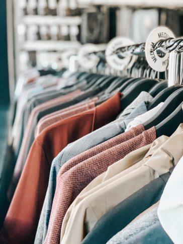assorted-color shirt lot