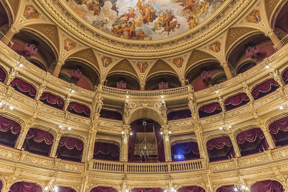 Richard Silver Budapest Opera House Hungary