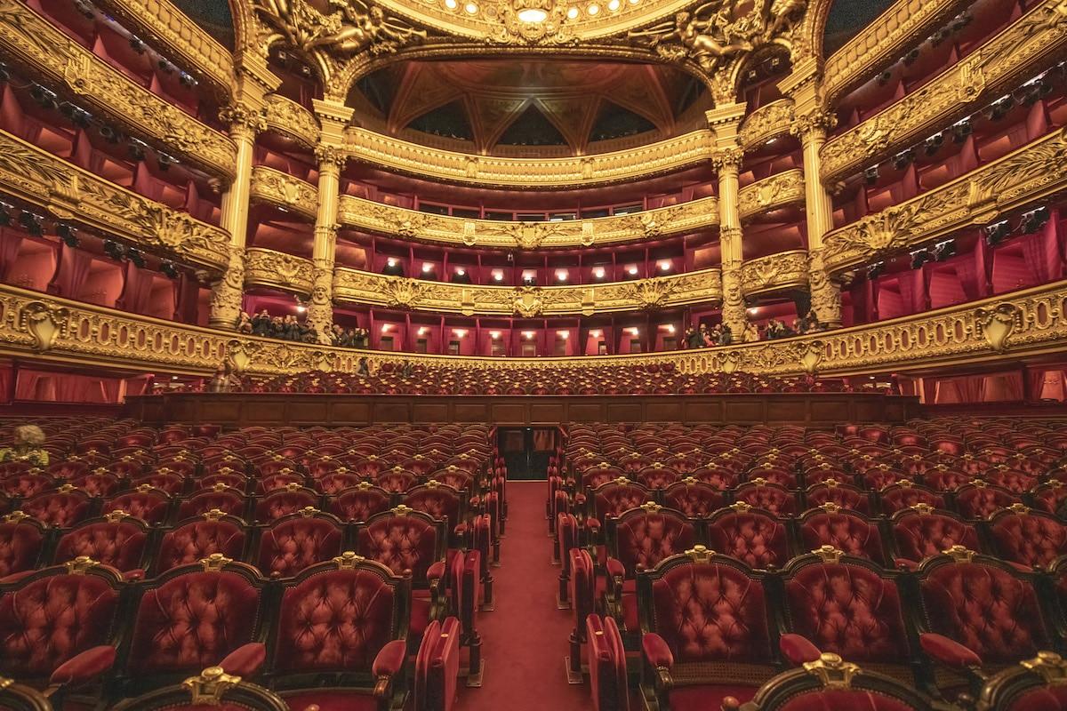 Richard Silver Paris Opera House