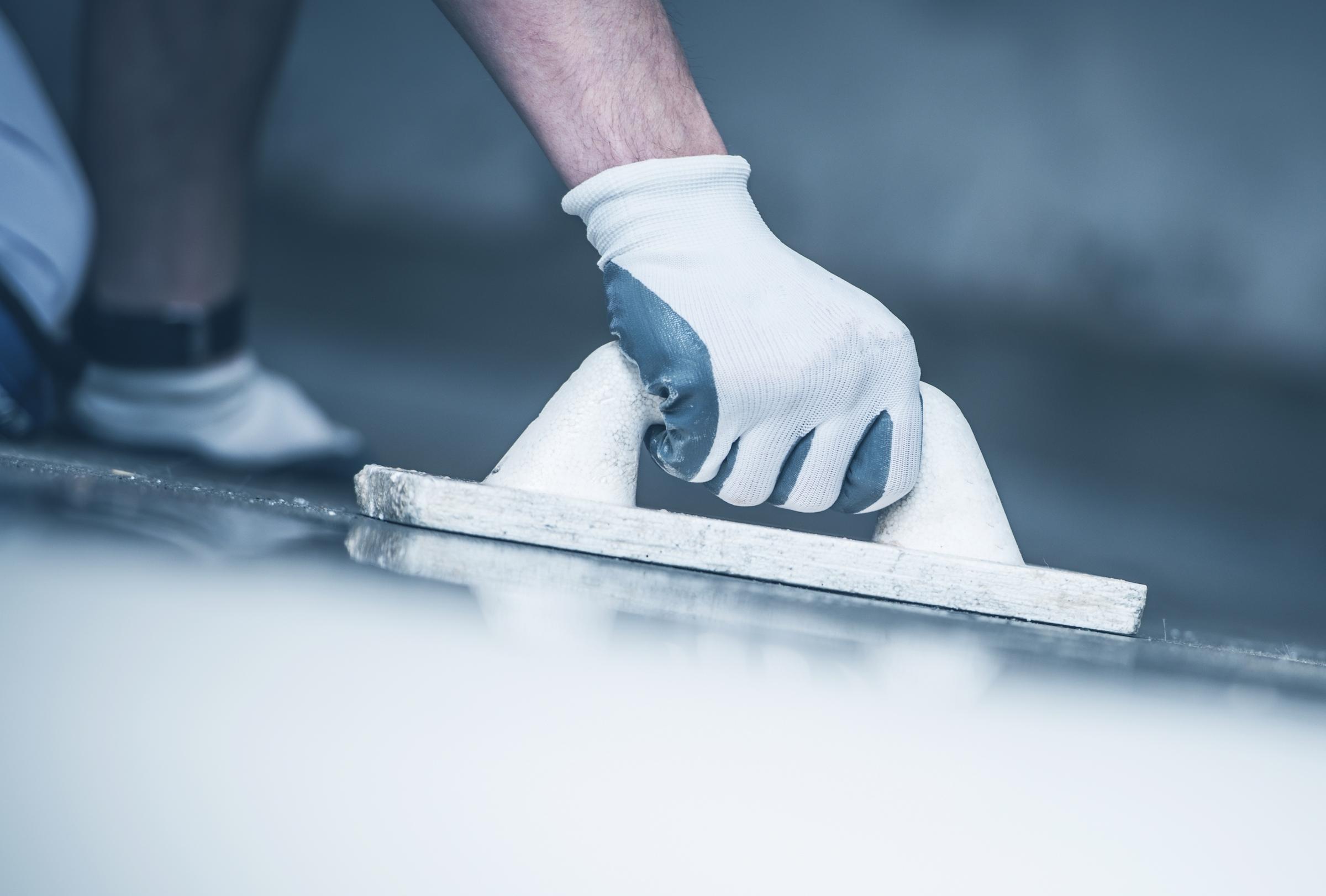 finishing concrete floor PJE3TFA