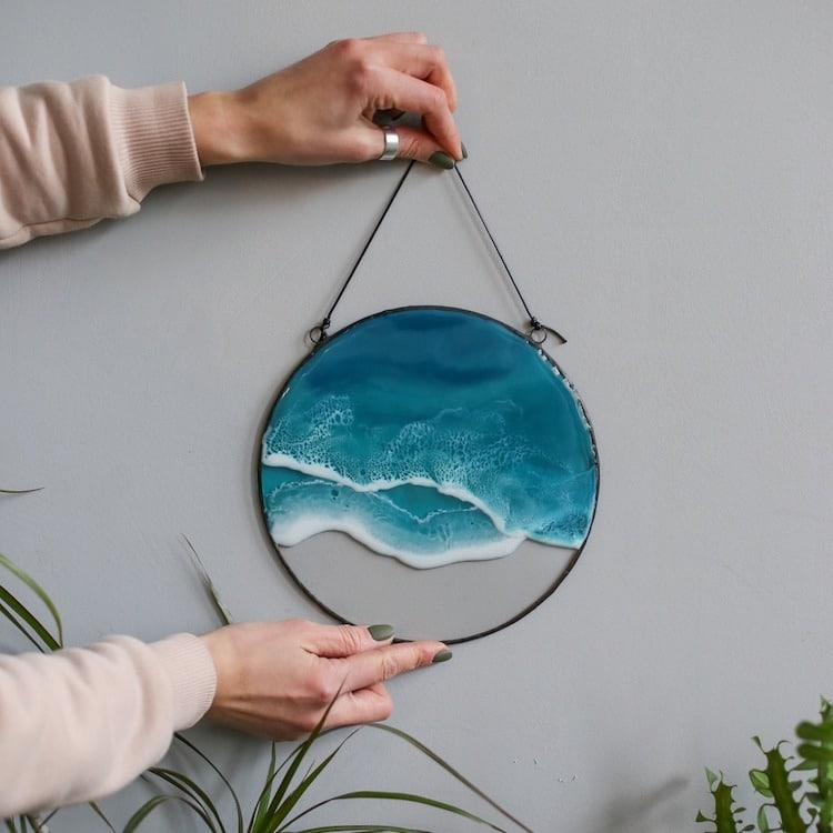 ocean resin art anna paschenko 11