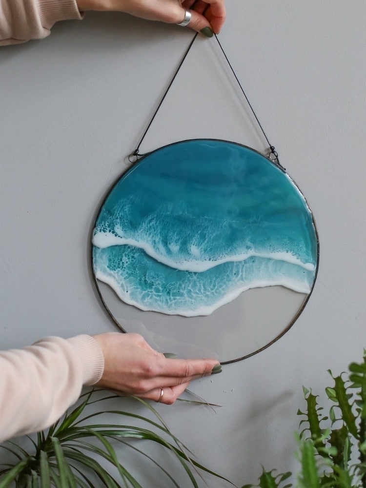 ocean resin art anna paschenko 2