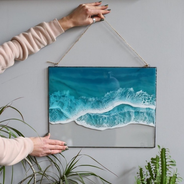 ocean resin art anna paschenko 9