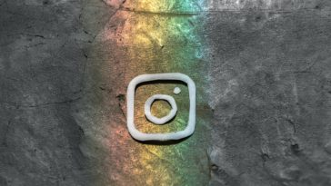 Instagram logo art