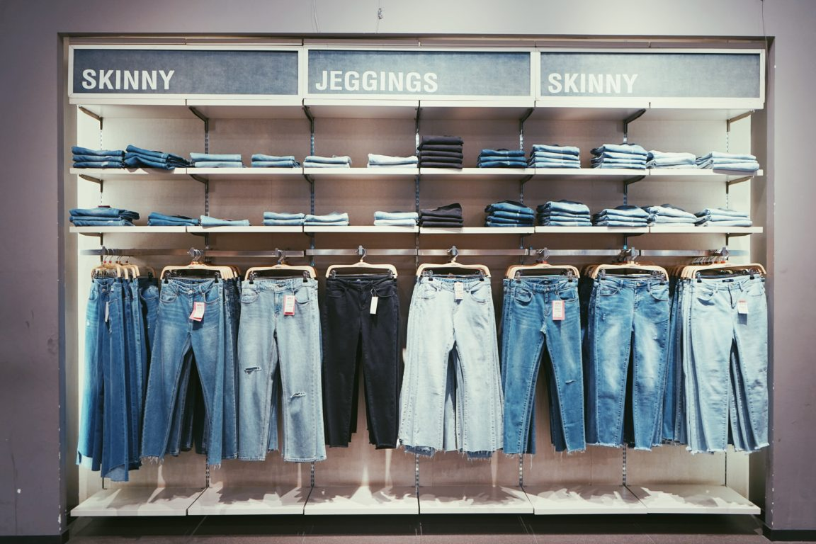 hanged jeans lot
