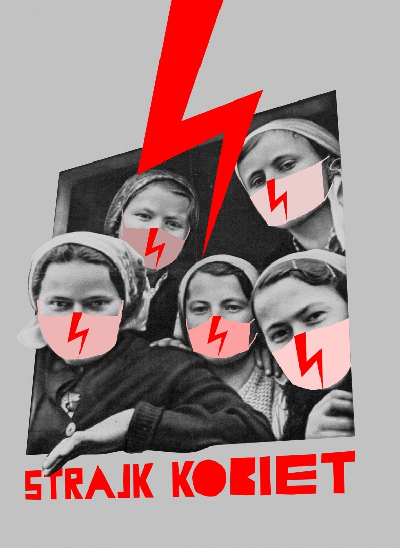 Julia Mirny blyskawice ogolnopolski strajk kobiet