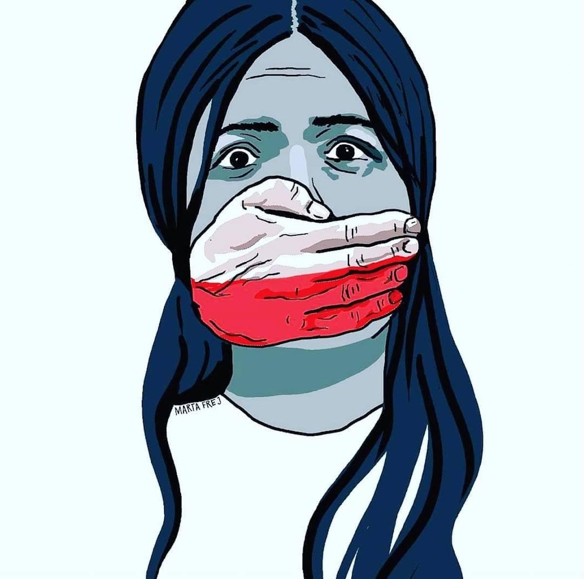 strajk kobiet marta frej