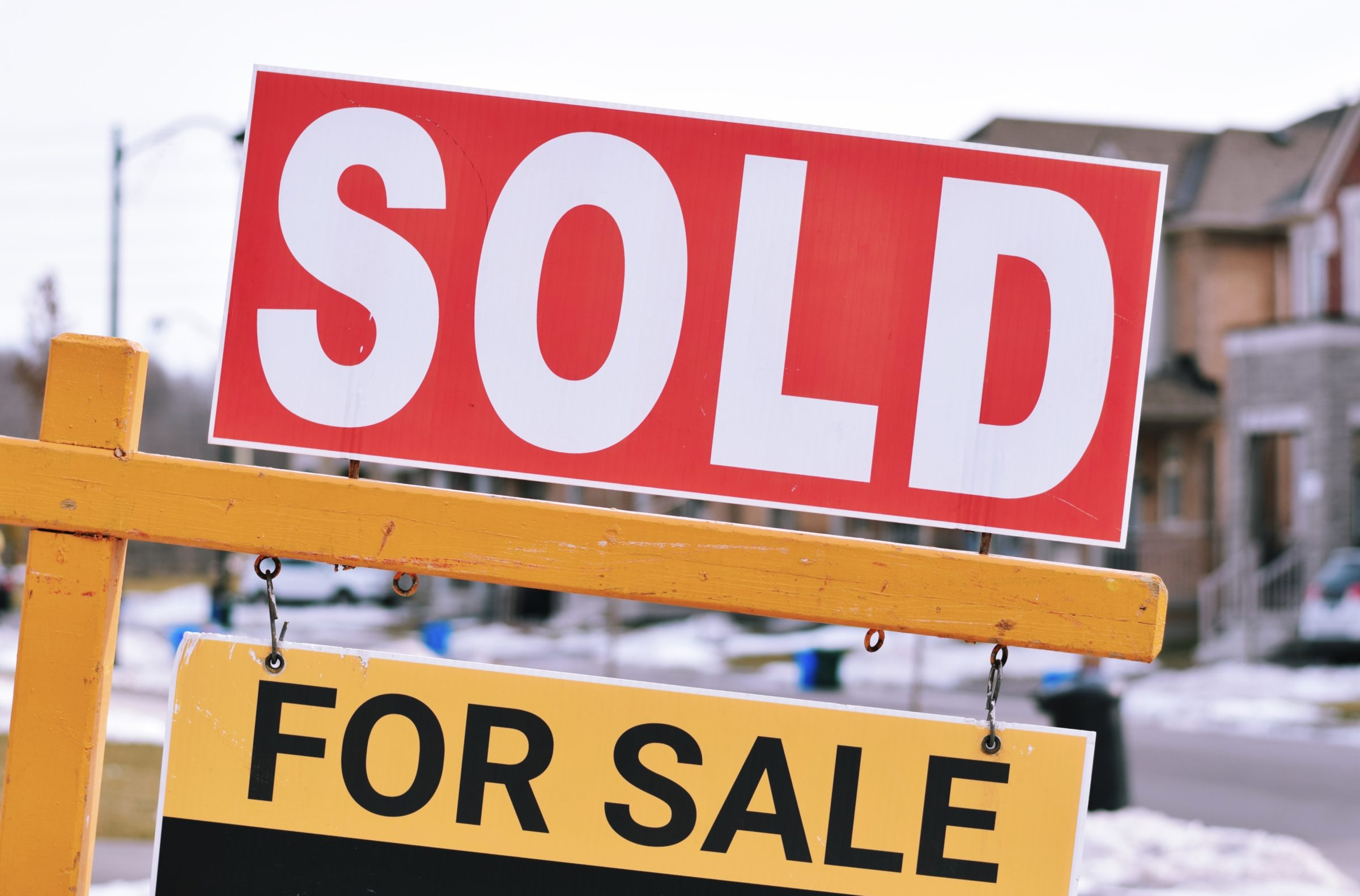 sold property for sale sign 88TBUGE