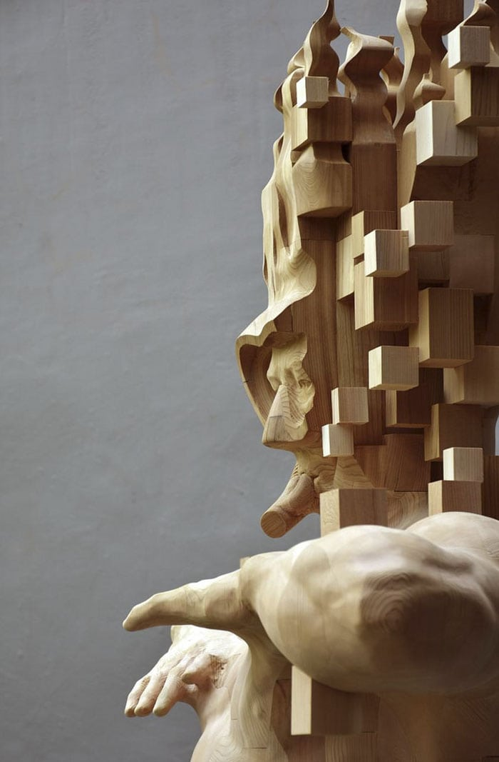 5f17e4ce4cb2b wood pixel sculptures hsu tung han taiwan 13 598bfcf609508 700