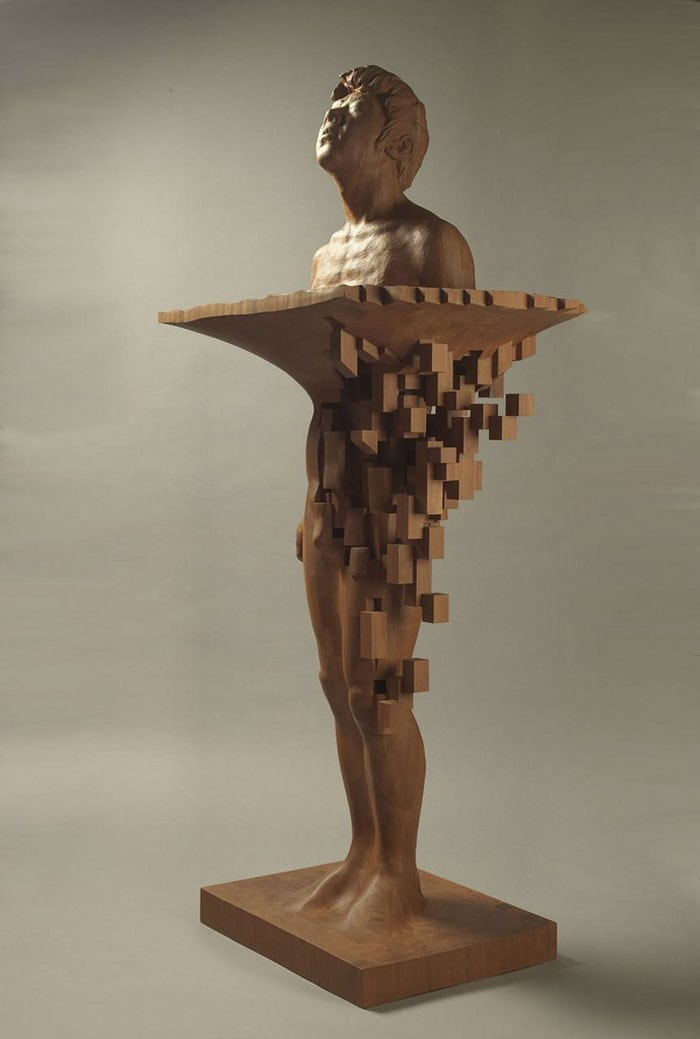5f17e4d08e652 wood pixel sculptures hsu tung han taiwan 7 598bfce98aab1 700