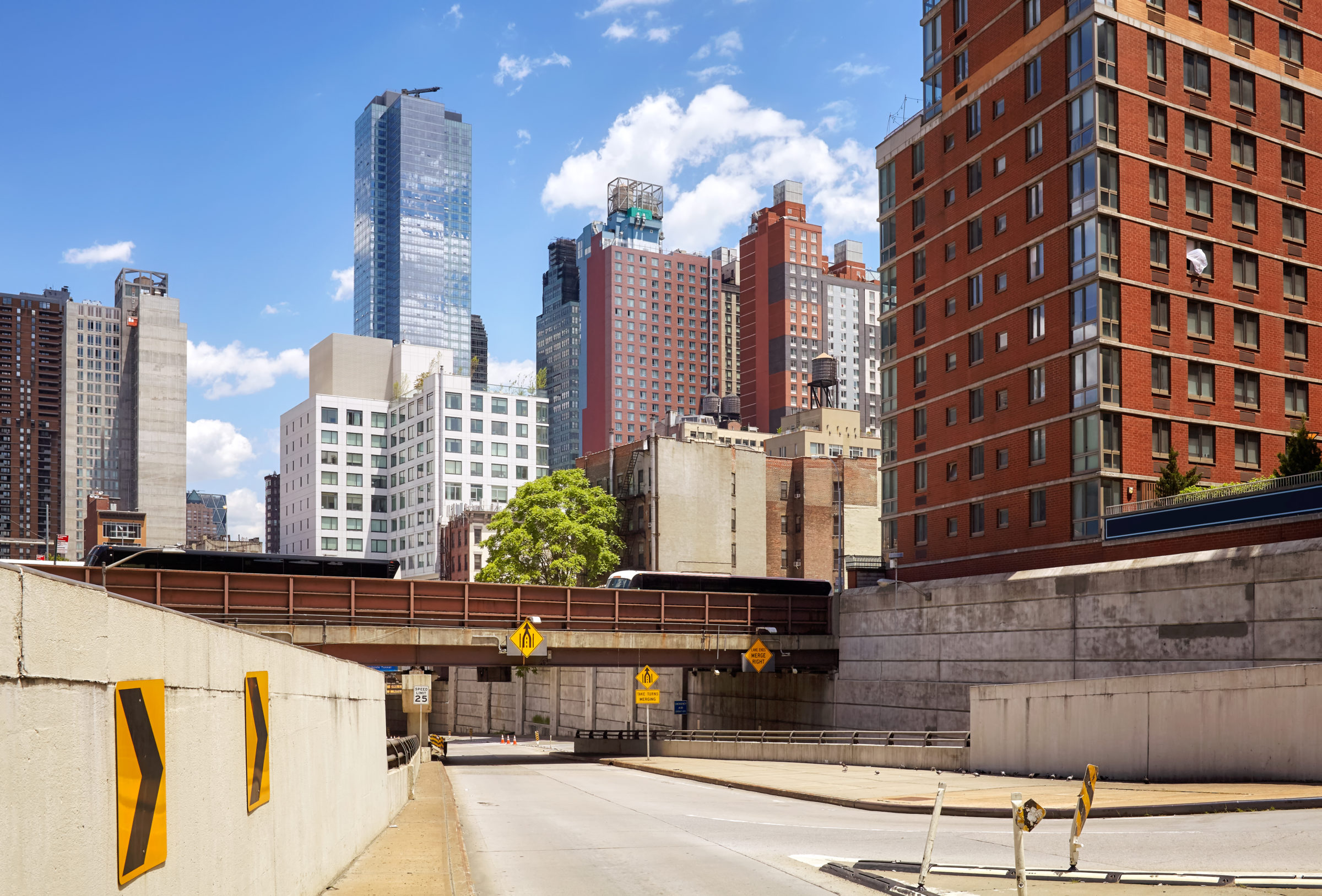 new york road infrastructure and architecture usa PDLHG8X