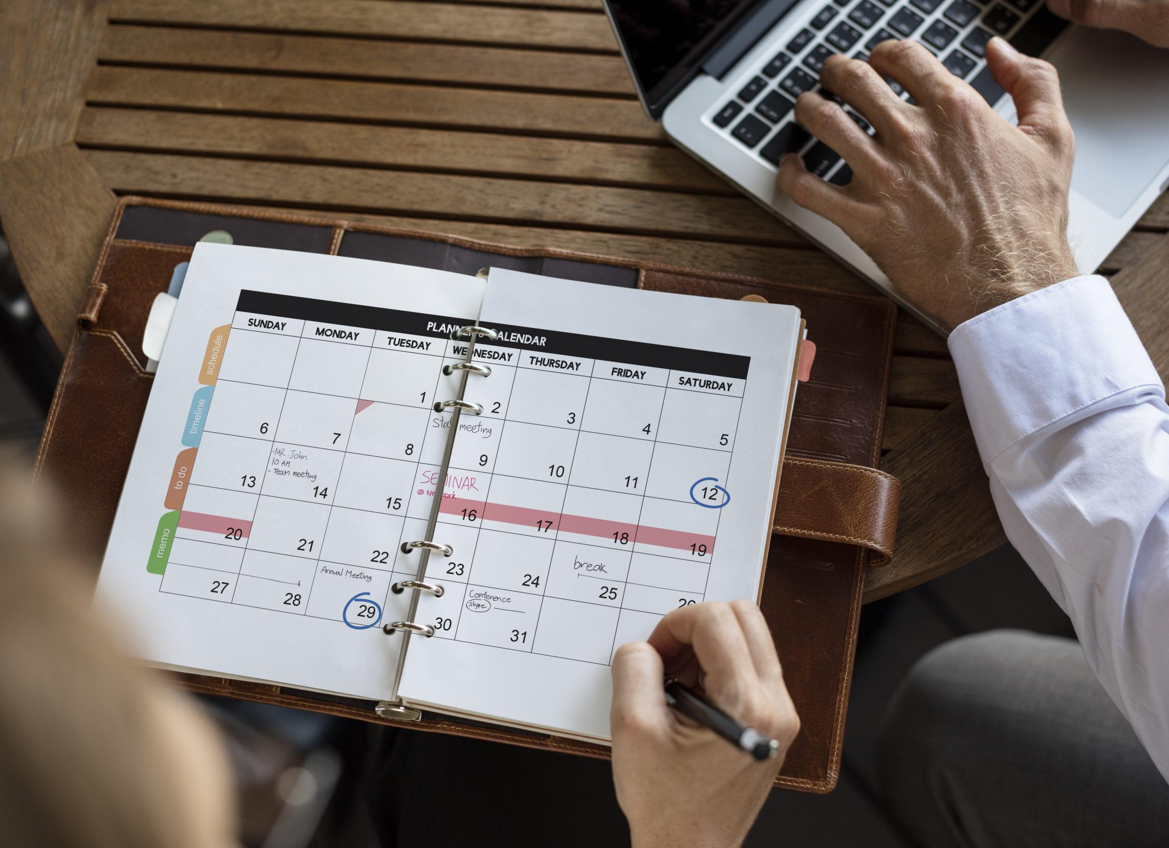 personal organizer management schedule planning RZHMYSL
