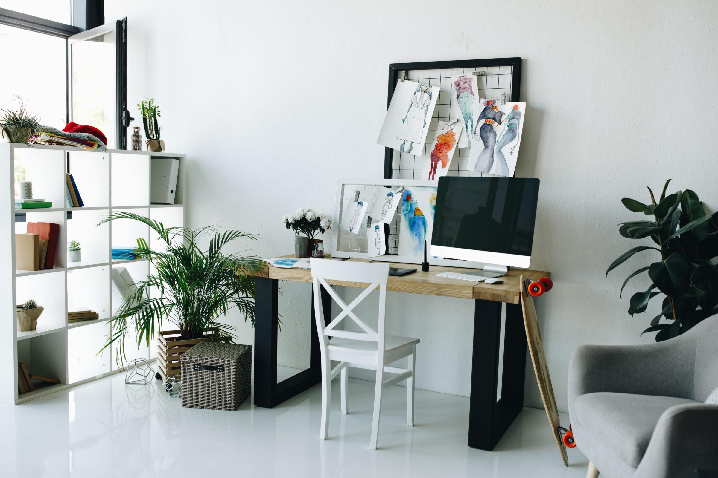 modern fashion design studio interior LNVLGPQ