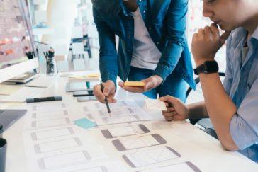 software developer and ux ui designer are designin JCVJ5M6