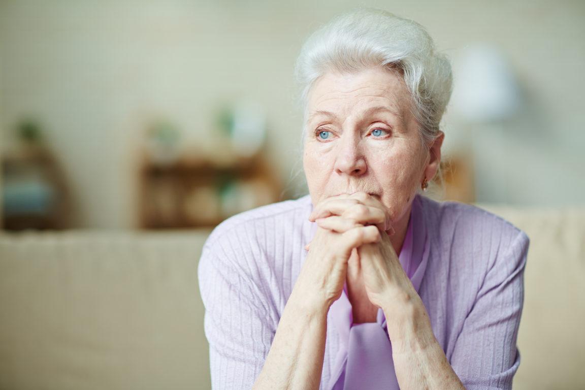 elderly woman PMQBJVW